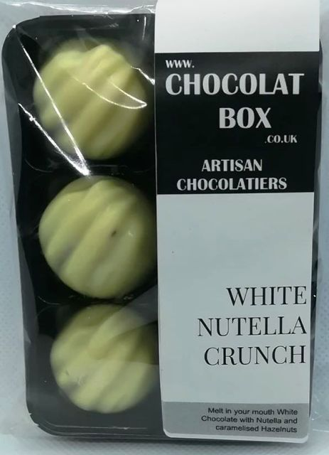 WHITE NUTELLA CRUNCH