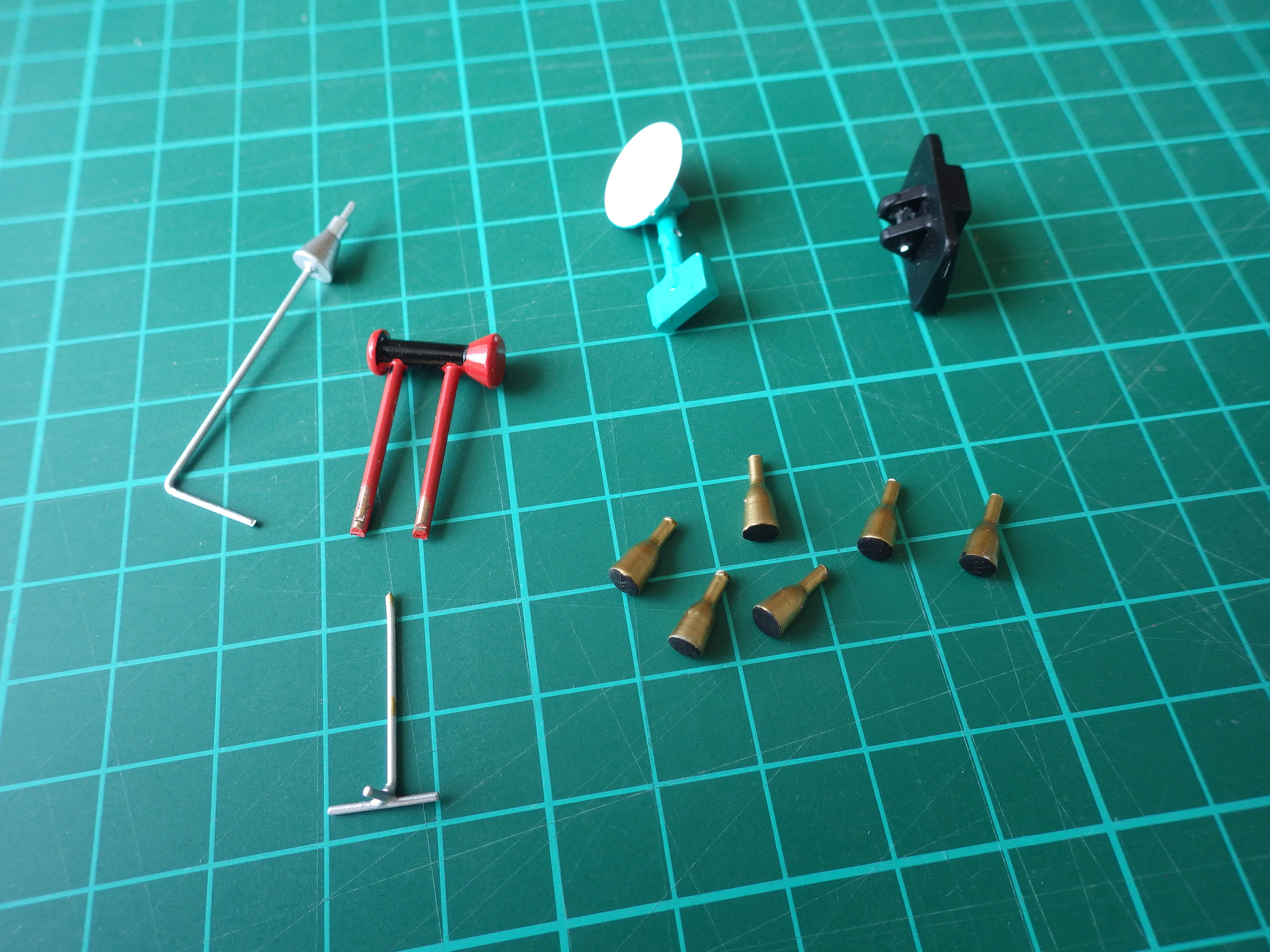 Spares for 'Original' 1966 LEM Contractors Model