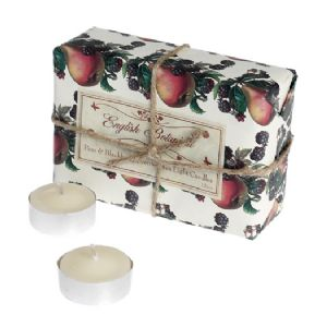 Pear & Blackberry 12 scented tea lights