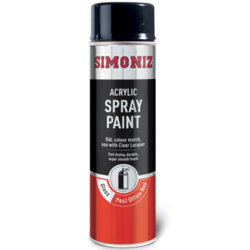 Simoniz Acryllic Spray Paint - Post Office Red - 500ml