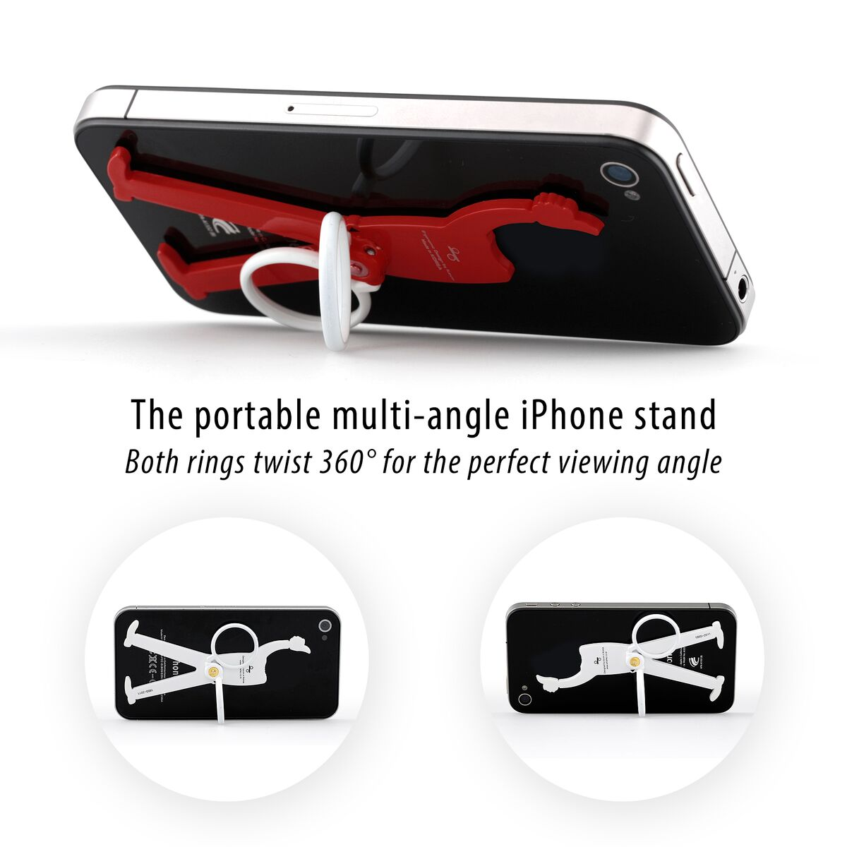 KEEP mobile phone holder and stand solid BLACK