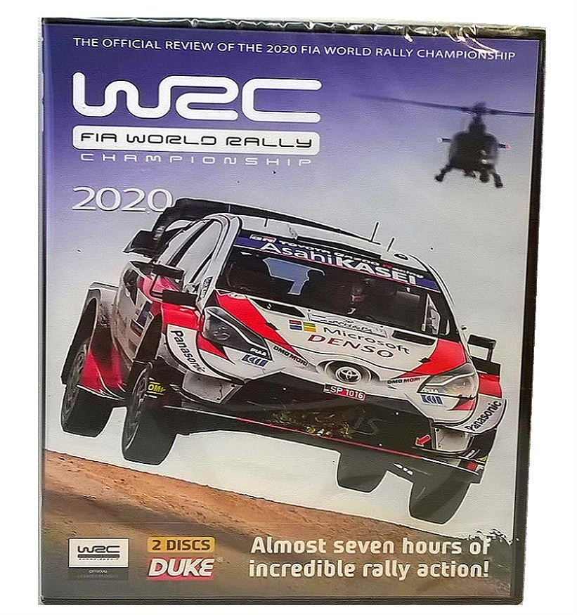 2020 WRC FIA WORLD RALLY CHAMPIONSHIP DVD - Official Review by Duke - 2 disc