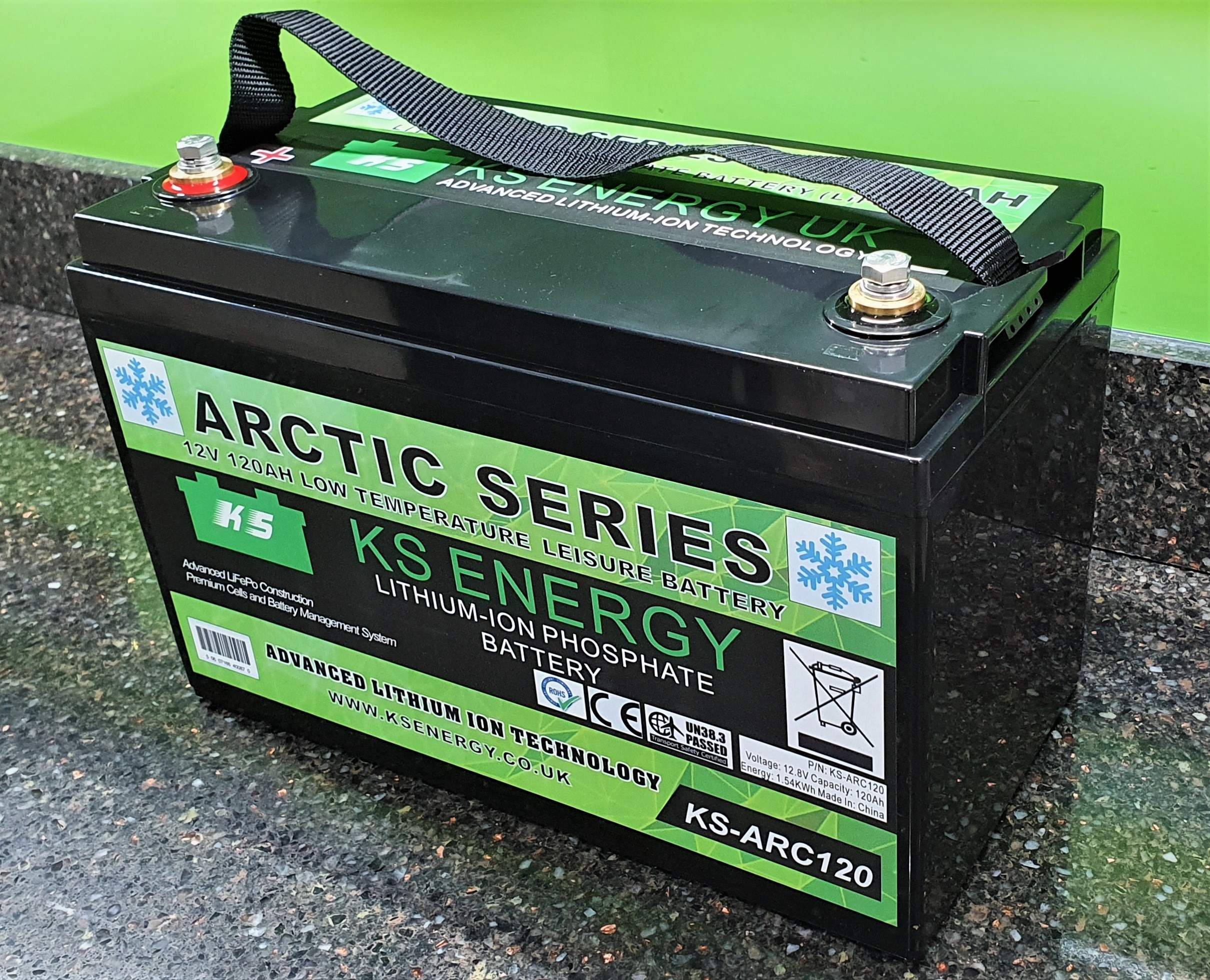 7): KS-ARC120 12V 120AH Ultra Low Temperature Arctic lithium leisure battery