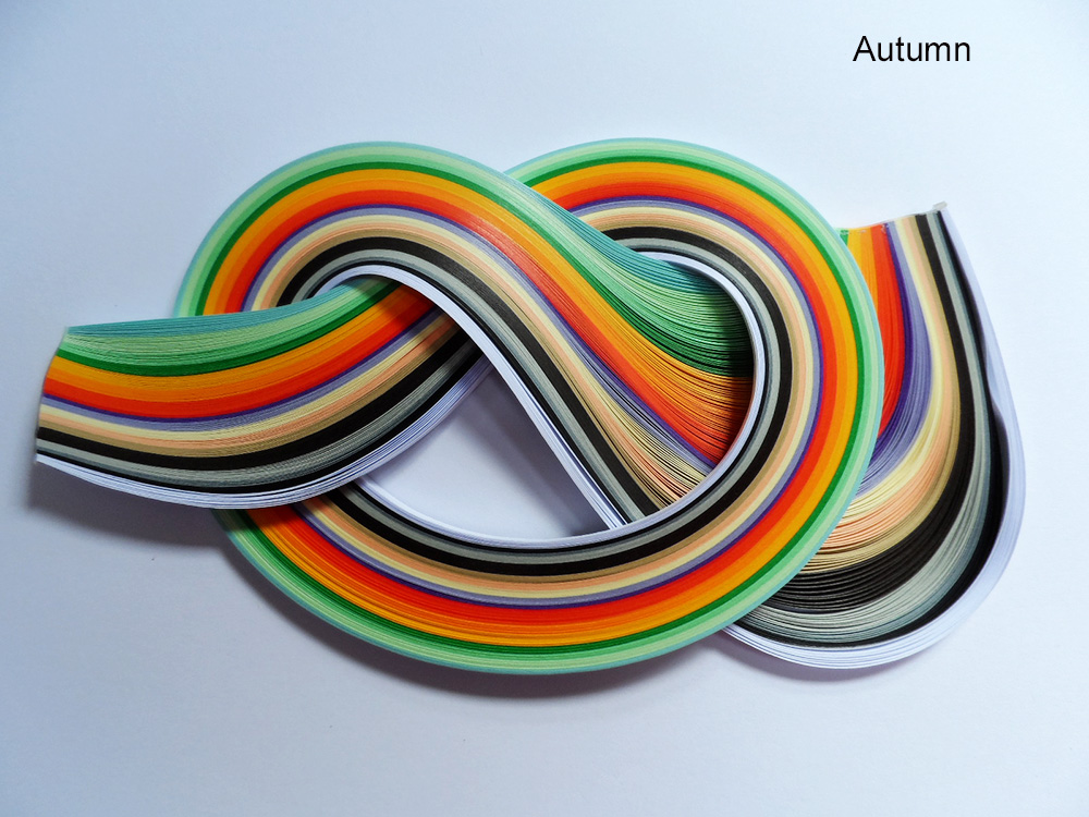 Quilling Papers 10mm, Mixed Colour Bundles