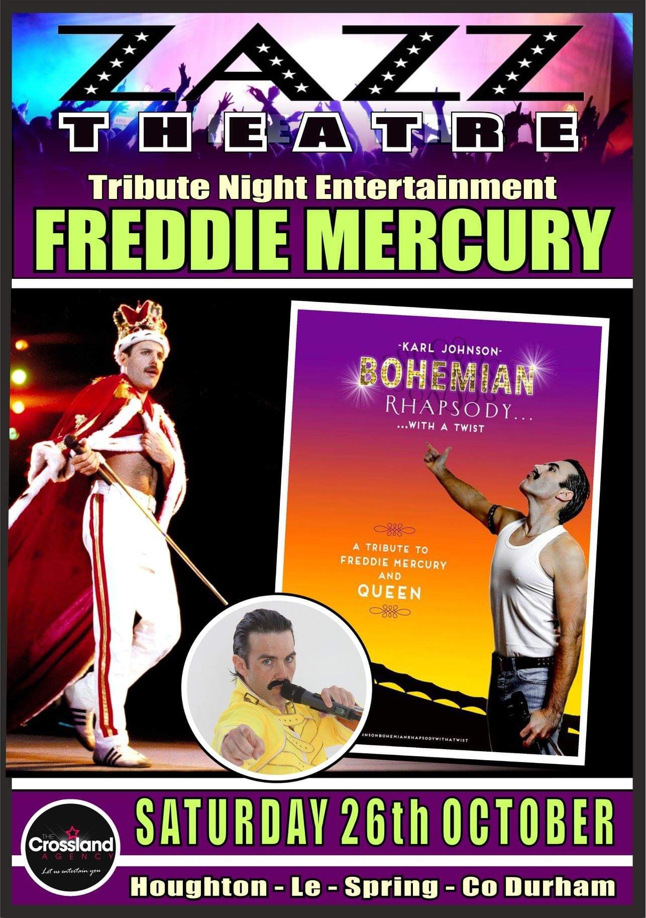 Freddie Mercury 26th October 2019
