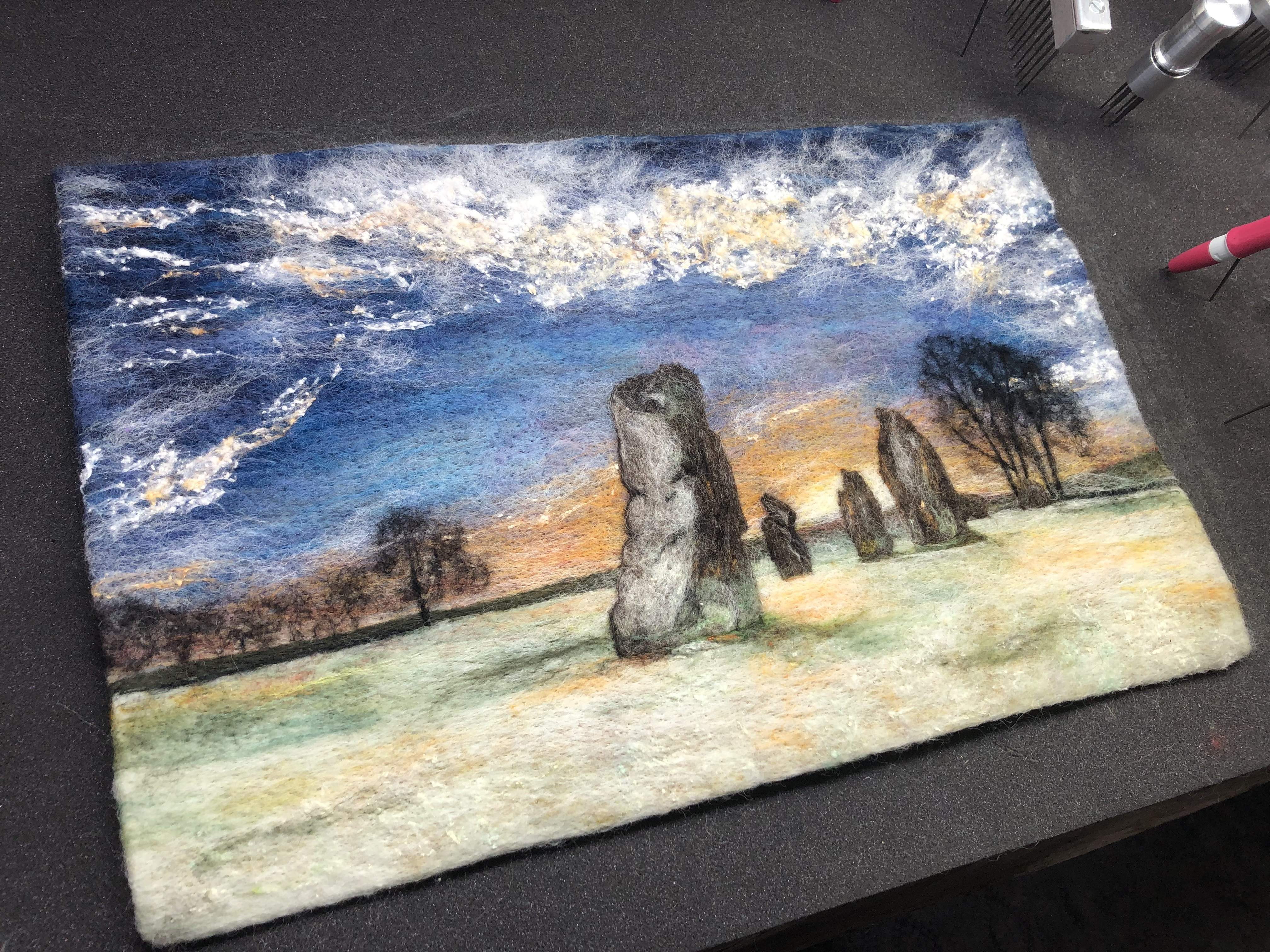 Winter at Avebury - Large