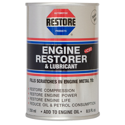 RESTORE - Engine Restorer & Lubricant - Available in 250ml / 400ml / 1 litre