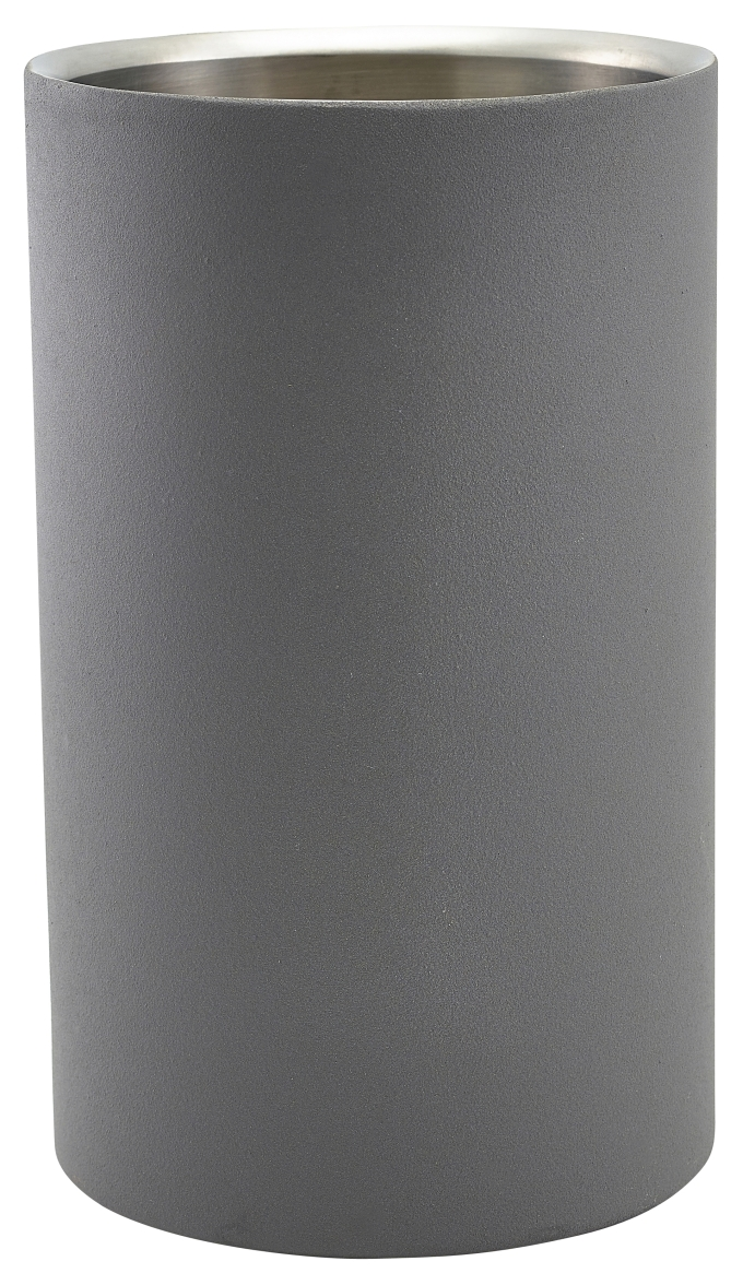 Iron Effect Wine Cooler 12cm Dia x 20cm High