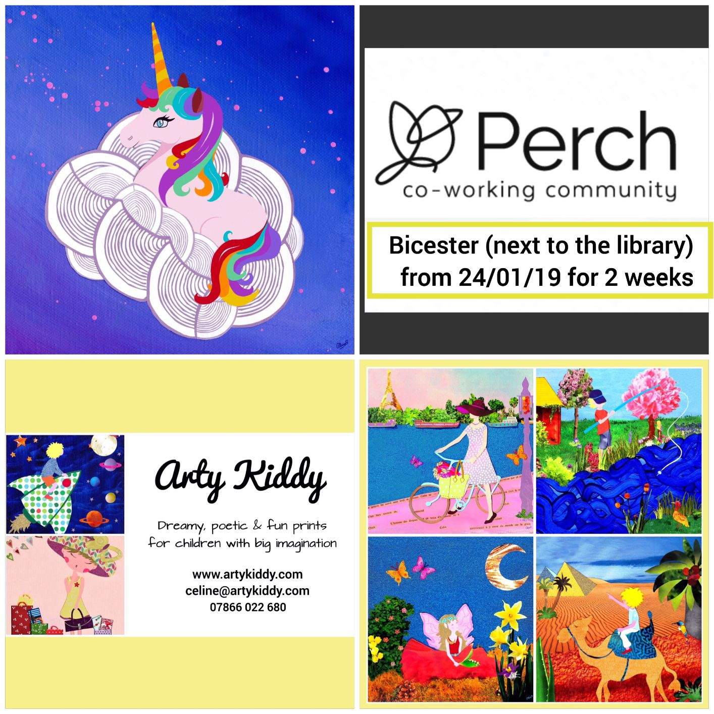 Perch Business Centre & Arty Kiddy