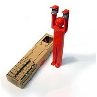 Retro red man bottle opener