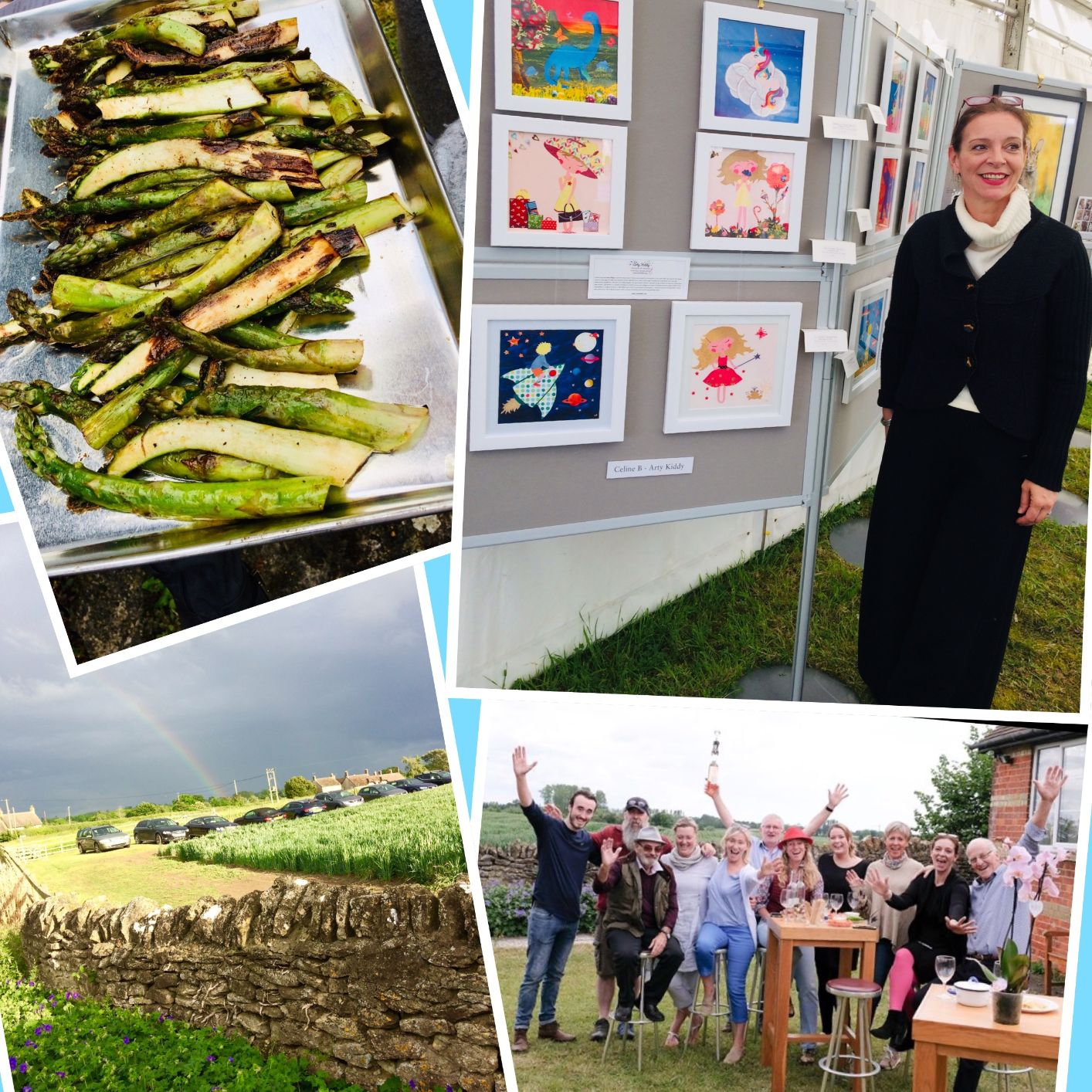Artists in the Countryside 8-9 June 2019: a fun weekend!