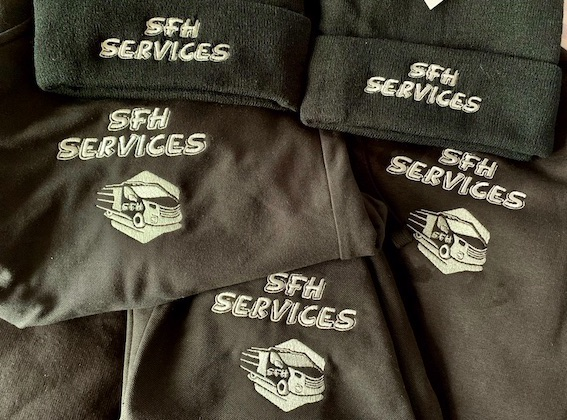 embroidery service logo embroidered clothing uniform & workwear