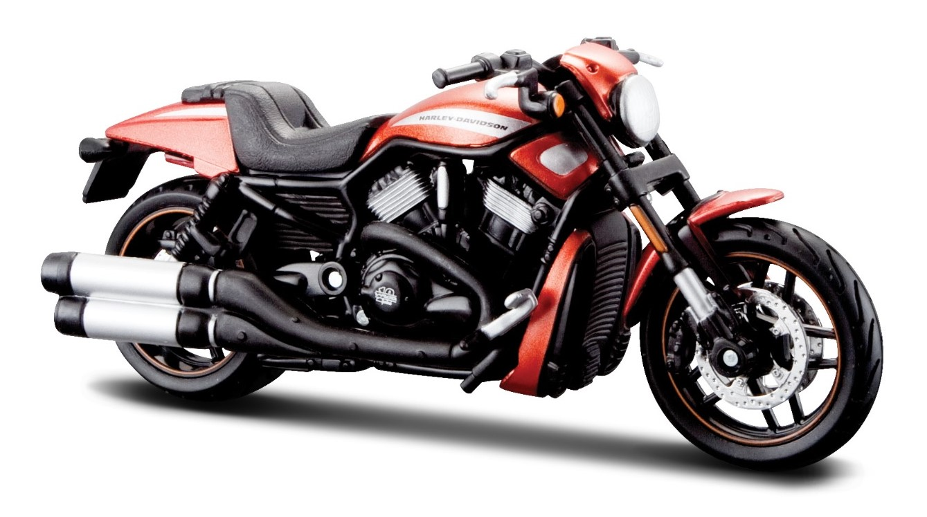 2012 HARLEY DAVIDSON VRSCDX NIGHT ROD SPECIAL - 1:18 Die-cast Motorbike Model by Maisto Series 33