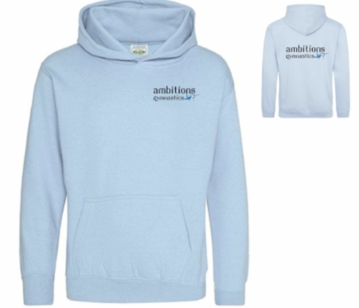 CLOSED for PRE-ORDER  Club Hoodie in Sky Blue