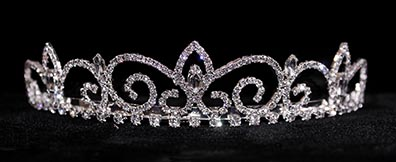 prom crowns - royal regent diamante tiara