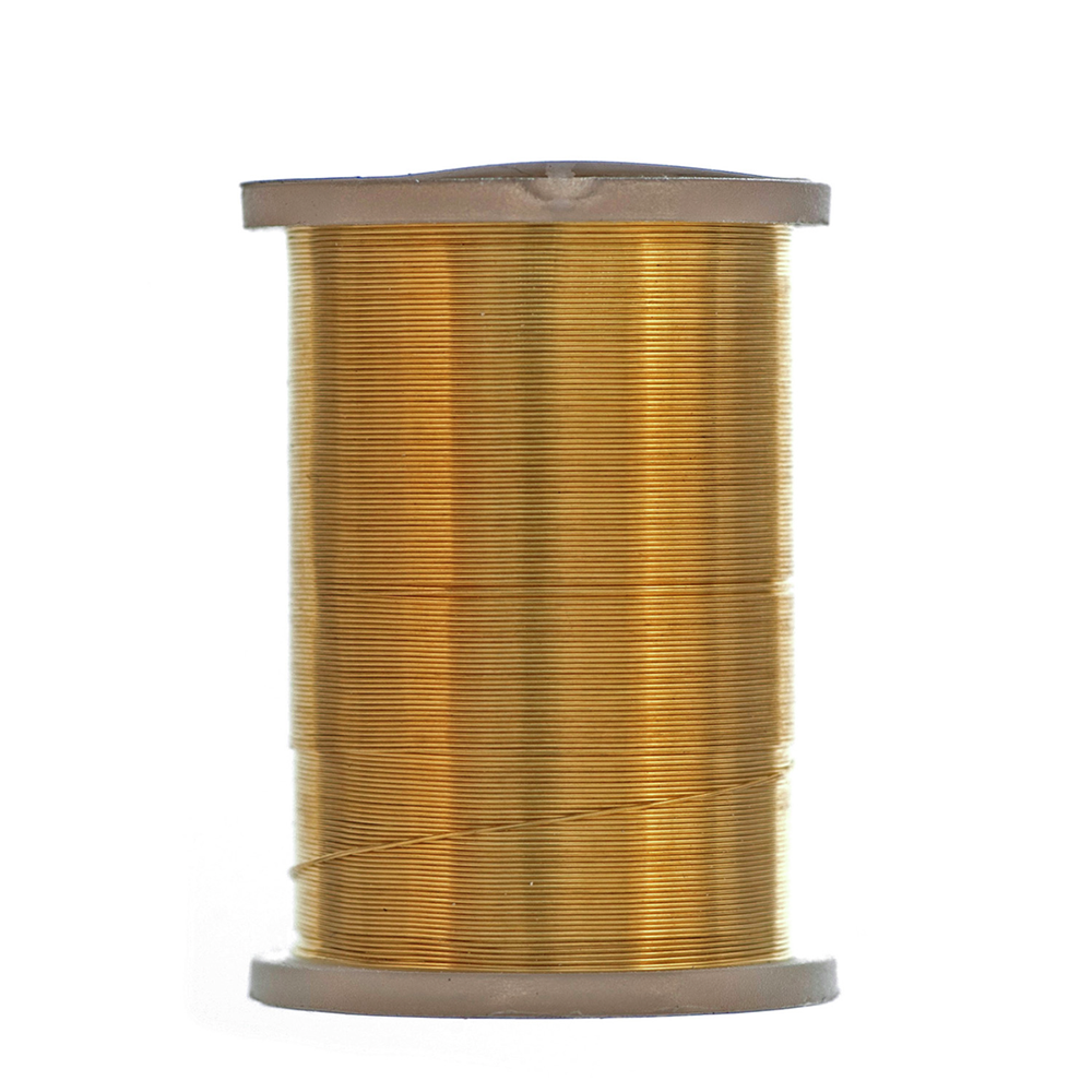 Beading Wire 34 gauge -  21m. Silver, Gold or Copper