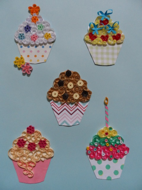 Quilling Kit - Designs for Cupcakes
