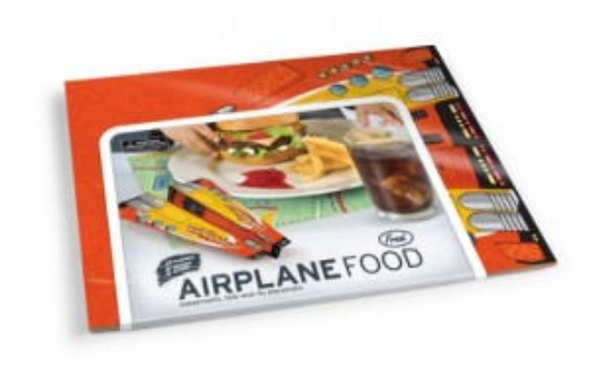 Airplane 50 foldable table placemats