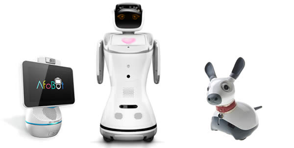 Luca Robotics Robots Sanbot Afobot Miro Robots