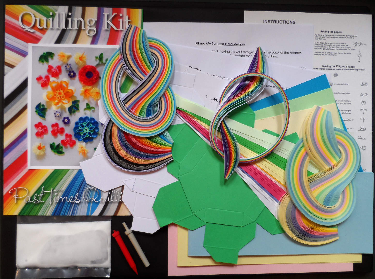 Quilling Kit - Floral Quilling Designs for Summer