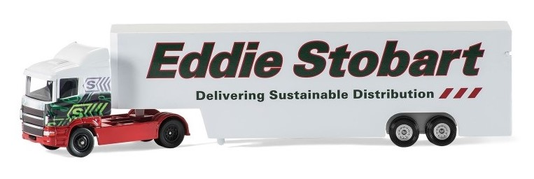 EDDIE STOBART BOX LORRY - 1:64 Die-cast Truck Model by Corgi TY86659