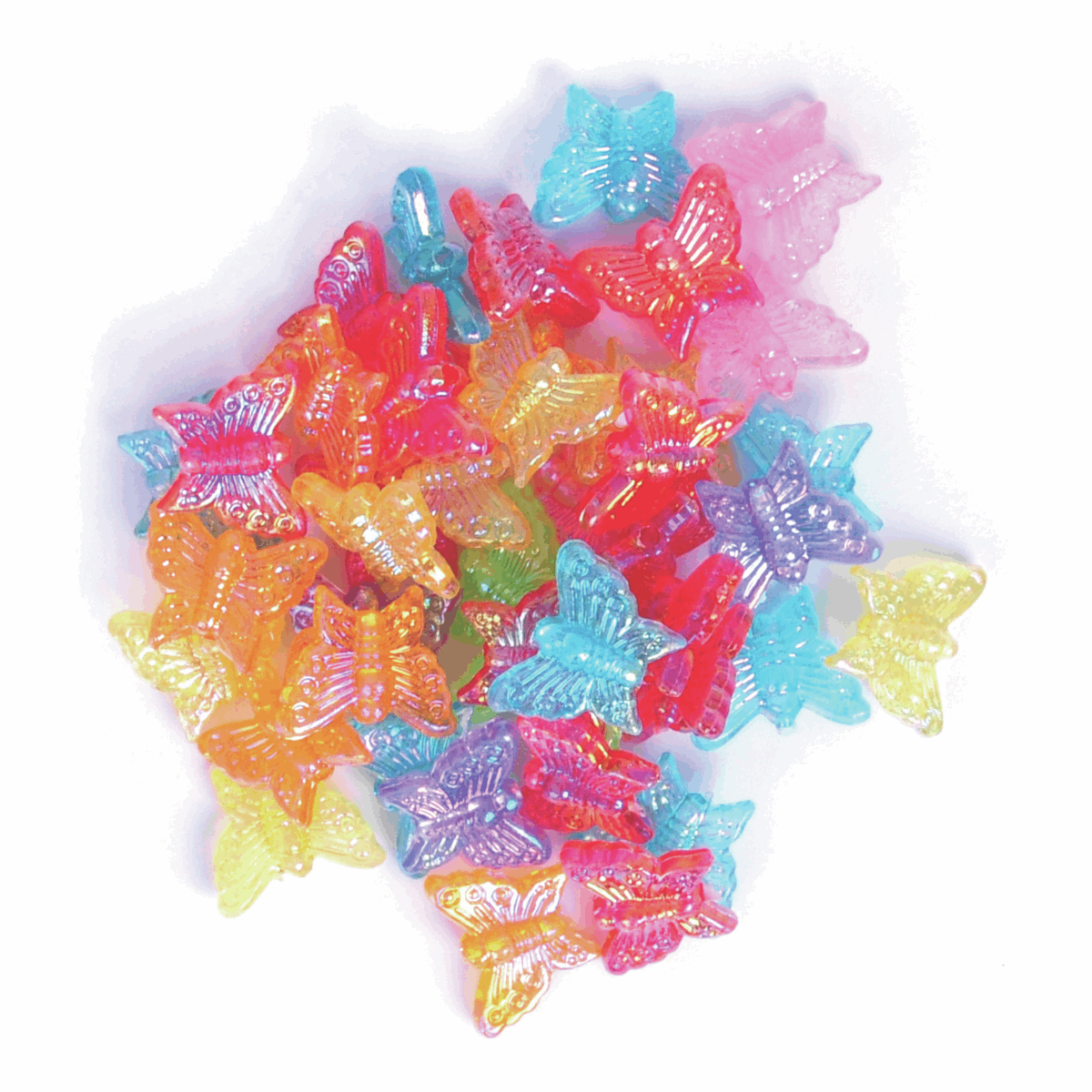 Butterfly Beads, Pack of 15g