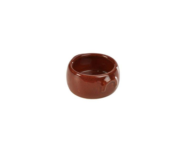 Terra Stoneware Rustic Red Butter Pot 3oz/90ml