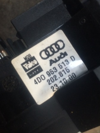 Audi A4 B5 wiper indicator stalks
