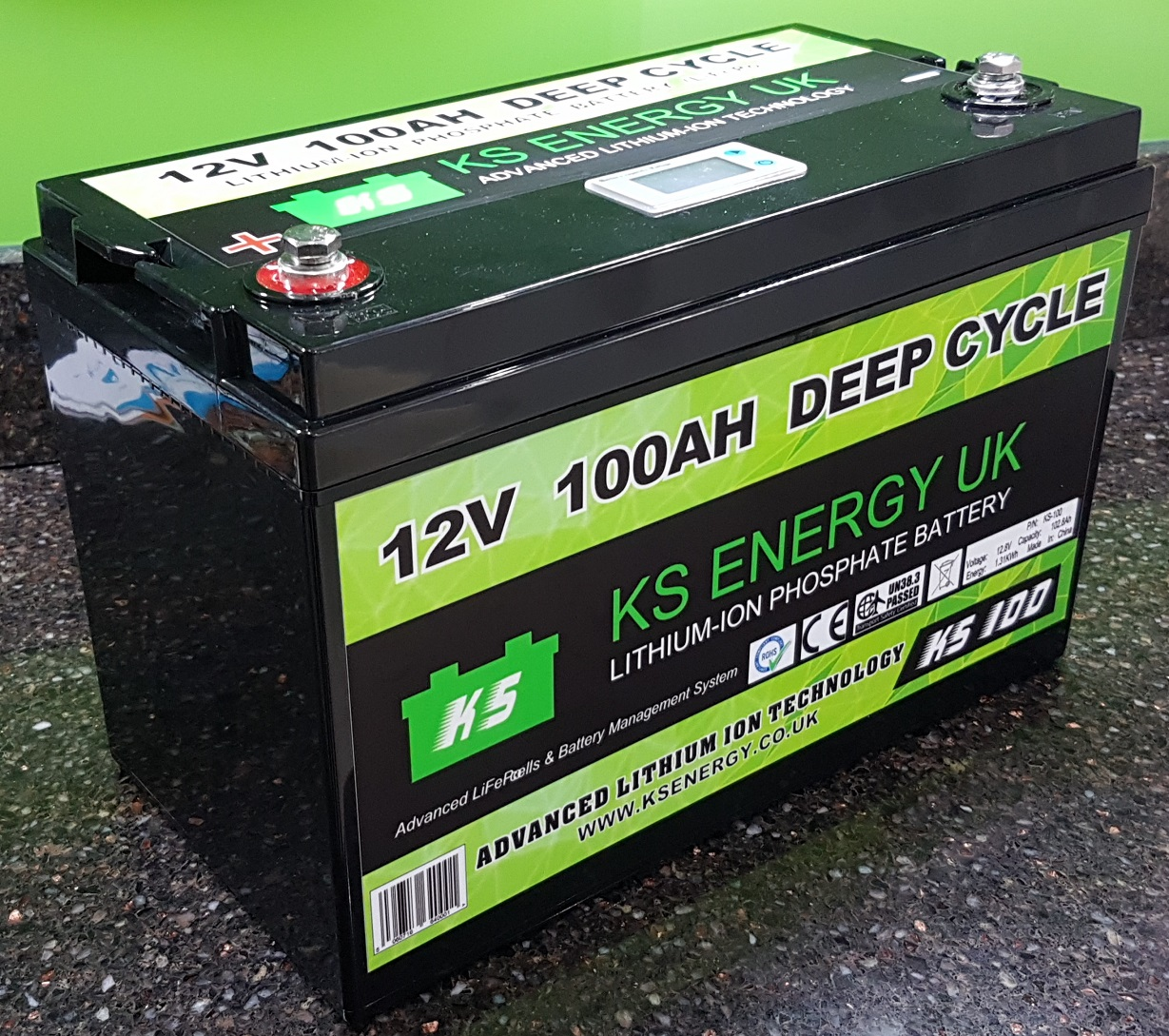 Model KS-100 12v 100AH LiFePo4 leisure battery