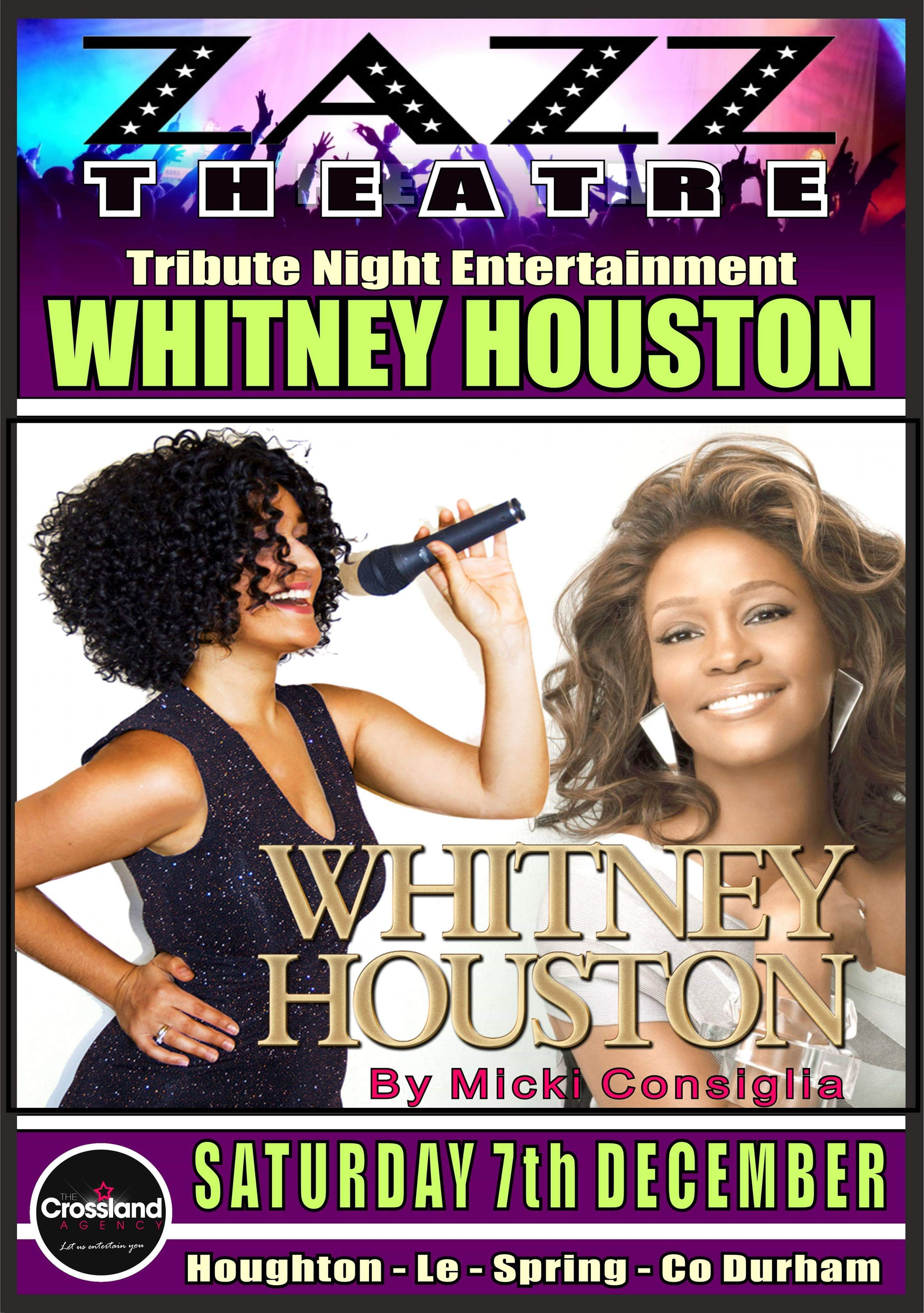 Whitney Houston 7th December 2019