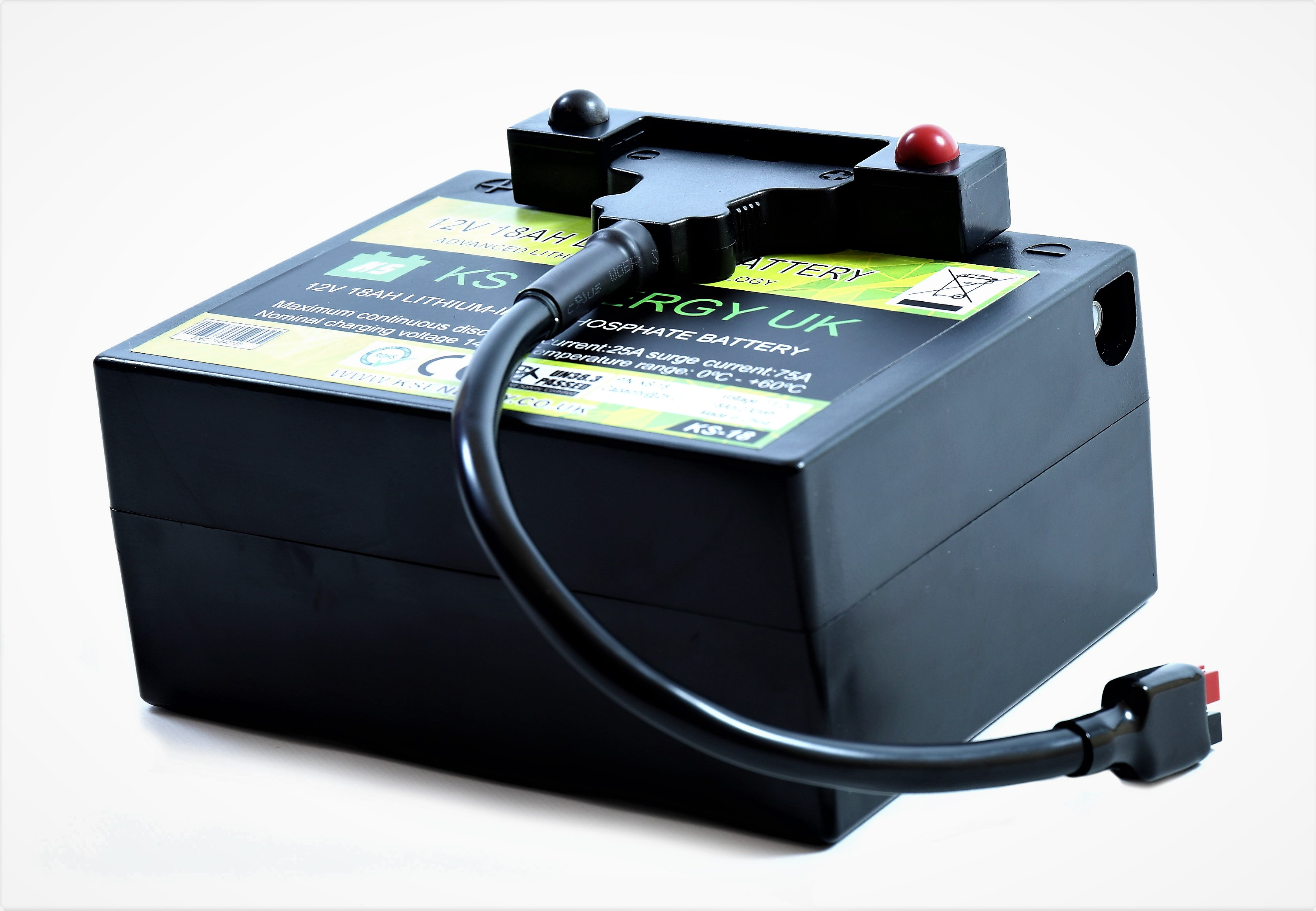 9a): KS-18 12v 18AH LiFePo4 lithium-iron LiFePo4 leisure battery
