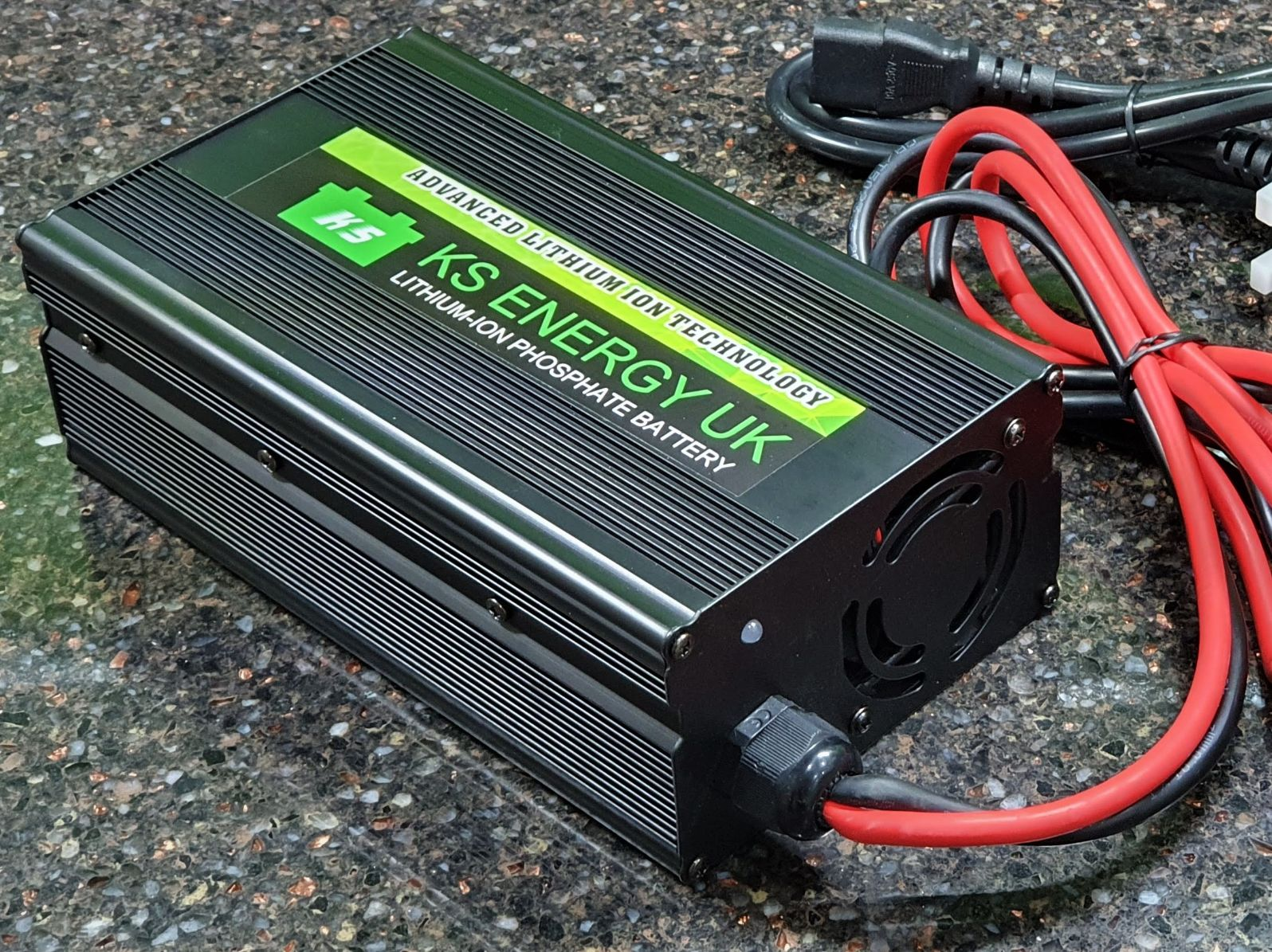 20A 12V lithium battery charger
