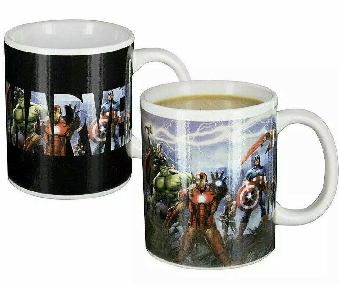 Marvel Avengers Heat Changing Mug