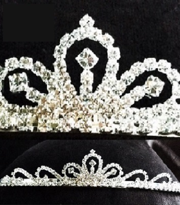 Prom tiaras - making waves diamante tiara