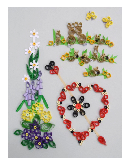 Quilling Kit - Designs for Spring Cards 2