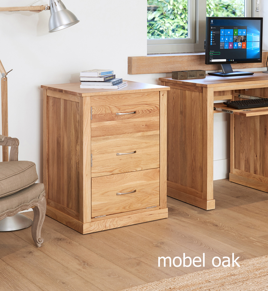 MOBEL - OAK PRINTER CUPBOARD