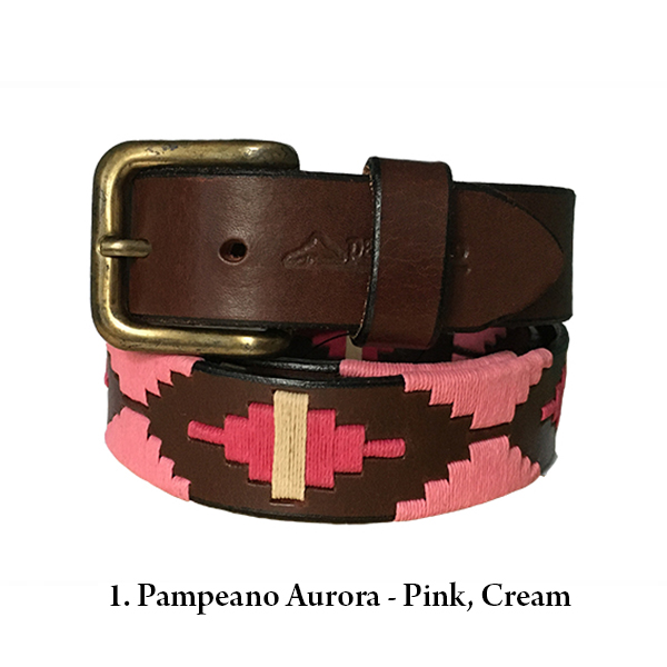 Pampeano and Pioneros Argentine Belts