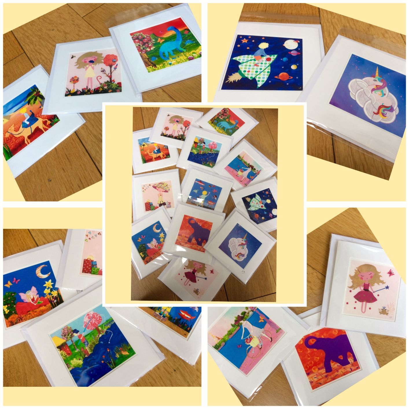 New: greeting cards for sale!