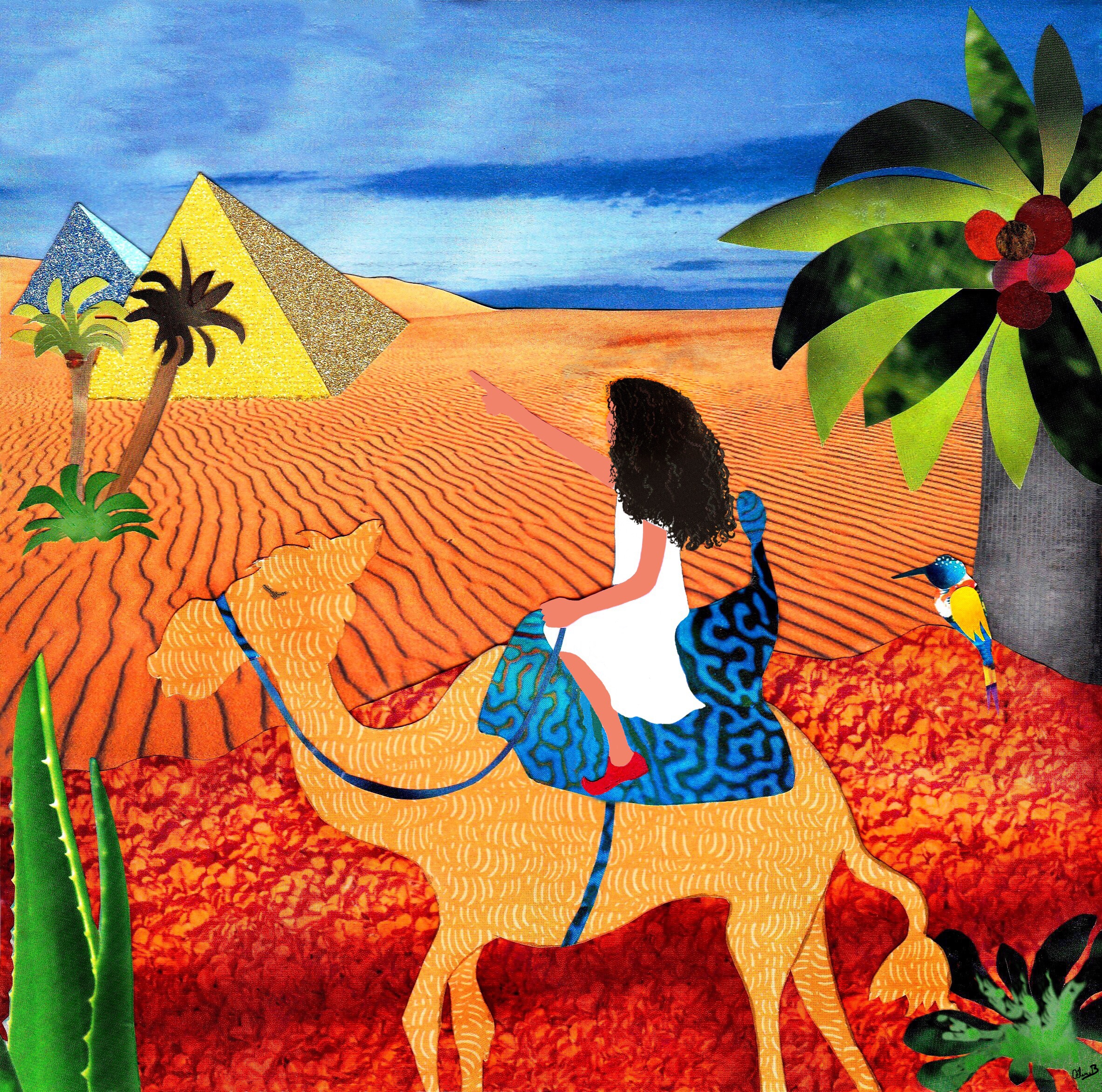 Camel Ride - little girl
