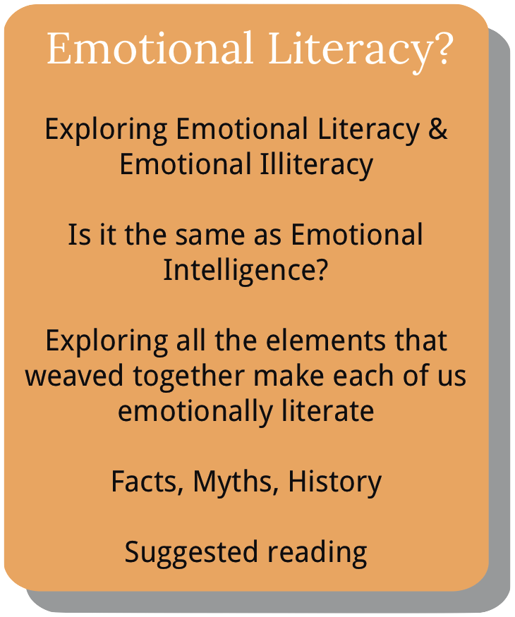 Information about course module 1. What is emotional literacy?