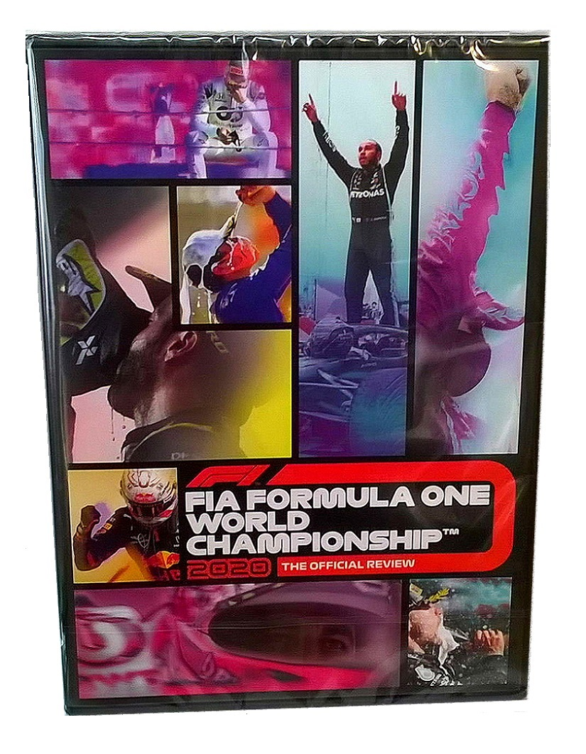 2020 FIA FORMULA ONE WORLD CHAMPIONSHIP DVD - Official F1 Review by Duke 2 Disc