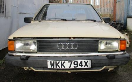 Audi 80 B2 1.6 saloon modified