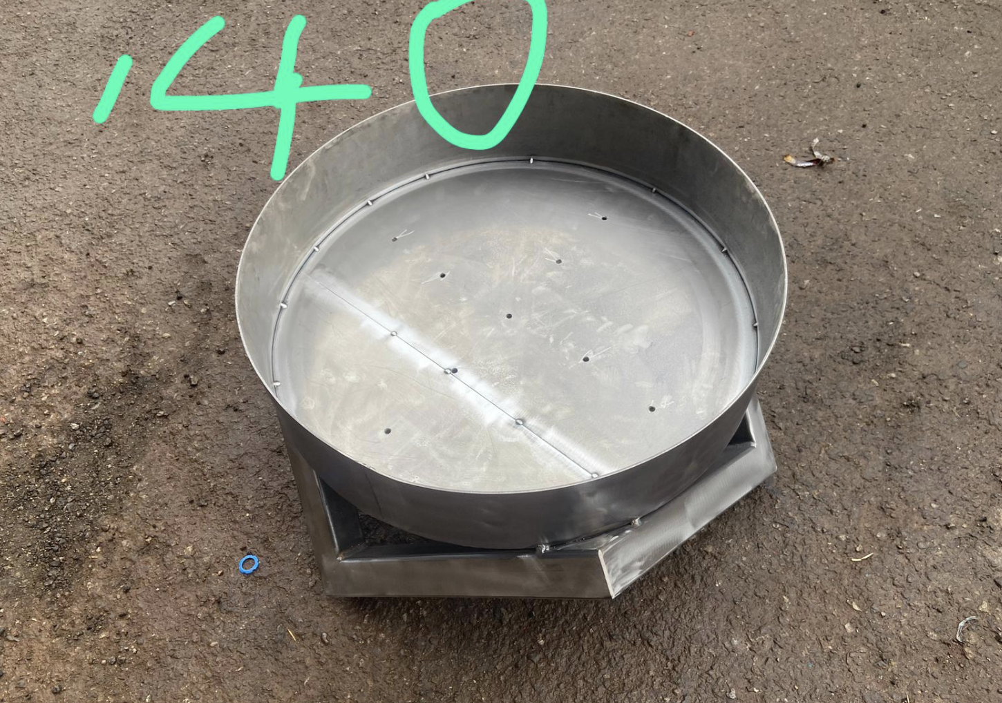 700 diameter fire pit 500 high