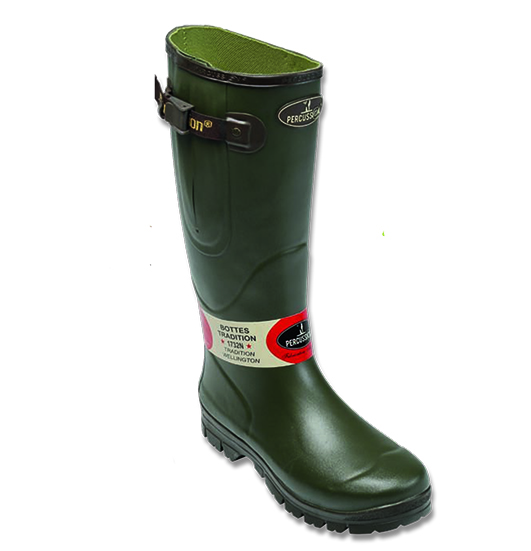 Percussion Cotton Jersey Wellington Boot