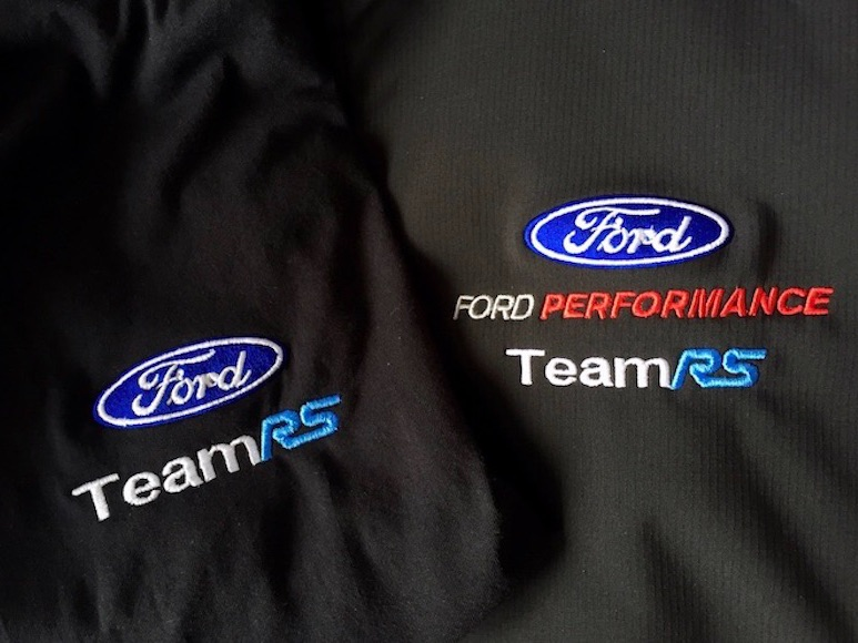 ford rs st embroidery embroidered racing motorsport