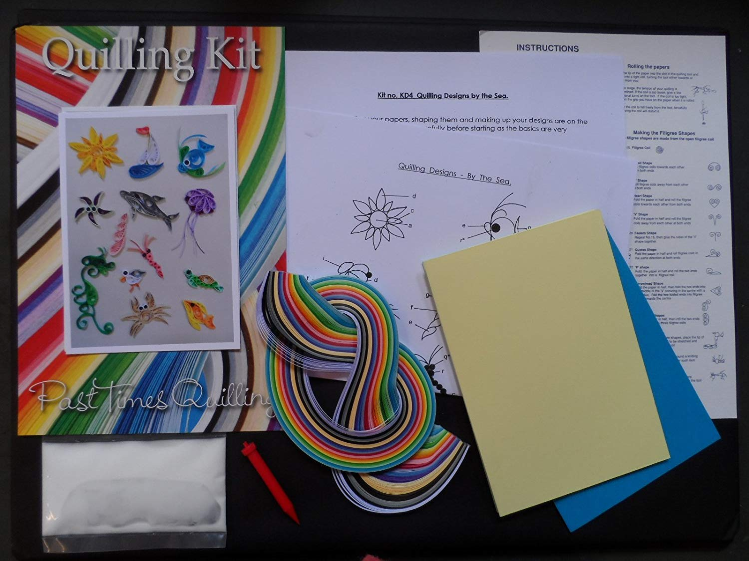 Quilling Kit - Designs by the Sea