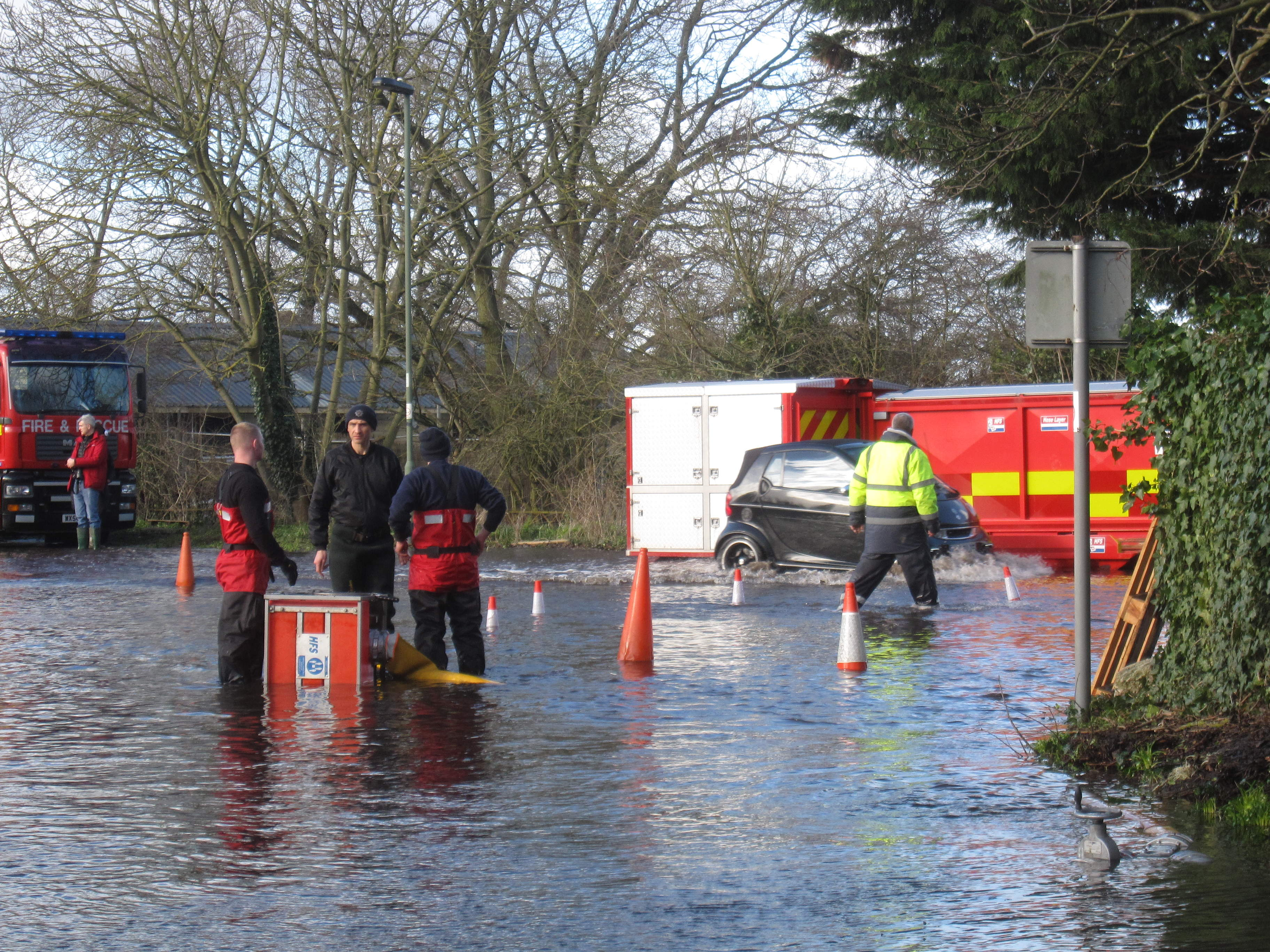 Adam Afriyie Welcomes New Winter Flooding Report
