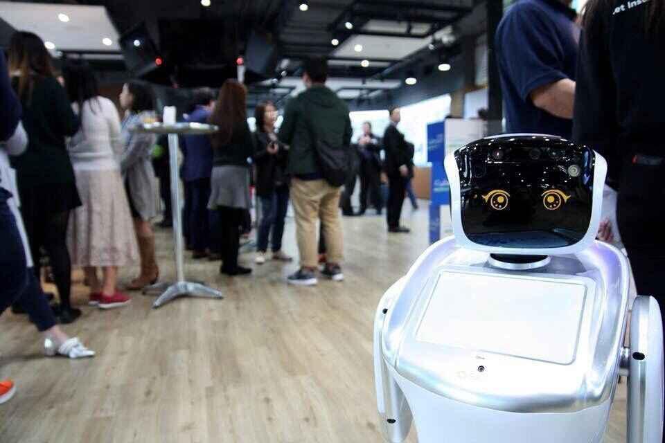 Sanbot robots for Event