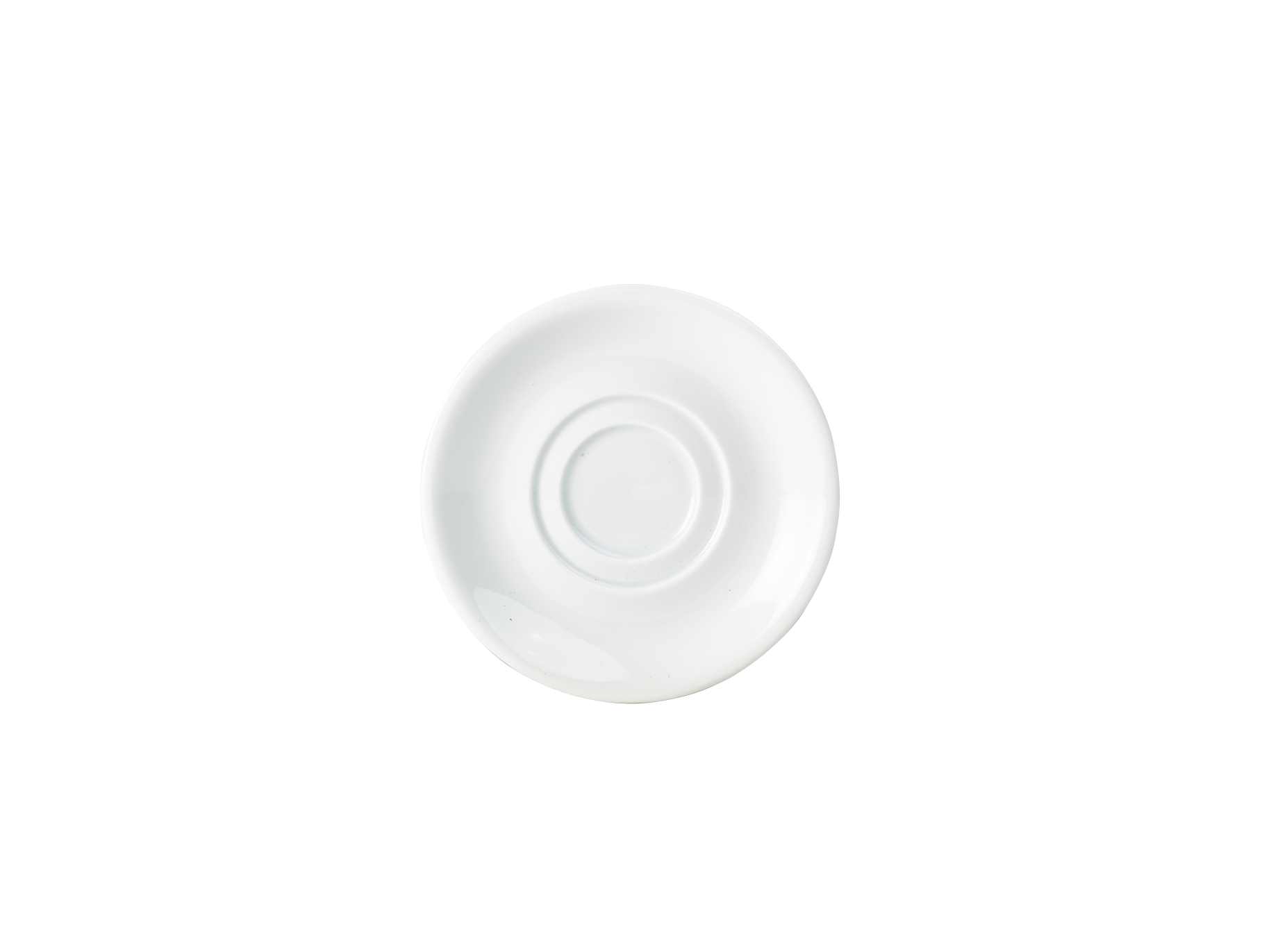 Genware Porcelain Double Well Saucer 15cm (132116)