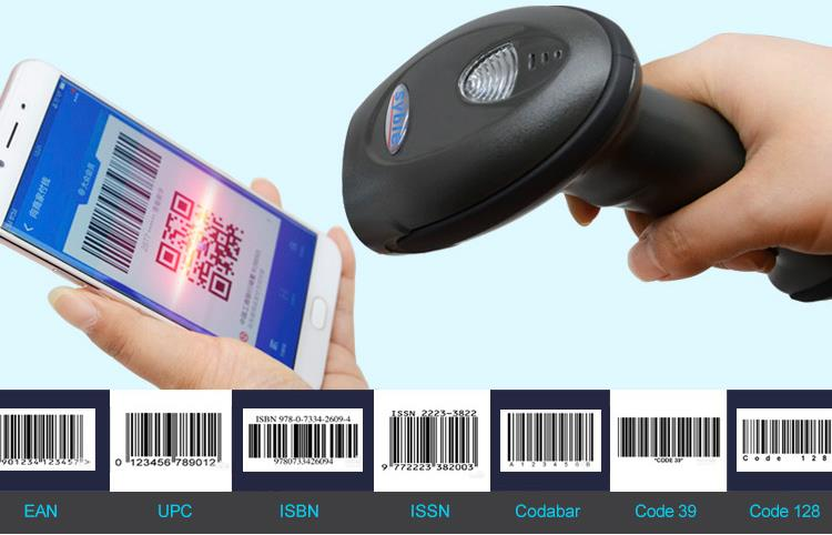 Syble 2D Barcode Scanningjpg